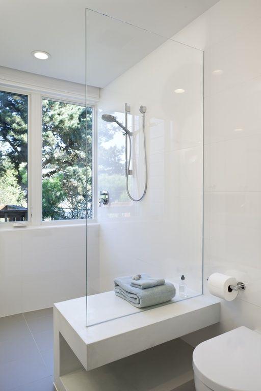 witte wandtegels badkamer 2 | badkamer | Pinterest - Wandtegels ...
