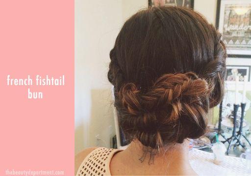 the-beauty-dept-french-fishtail-bun.jpg 512×358 pixels