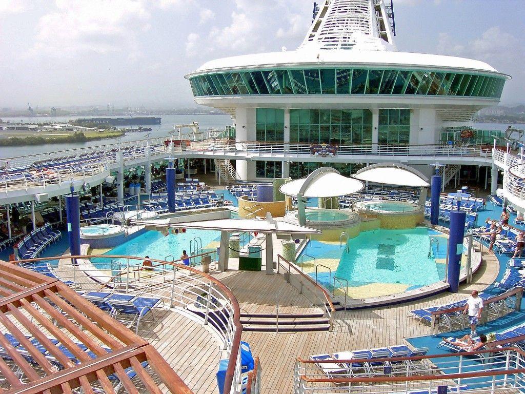 pools u0026 tubs area on royal caribbean love u0027s photo album