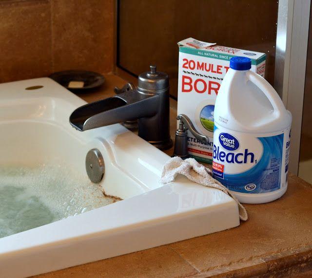 Borax Bathtub Cleaner