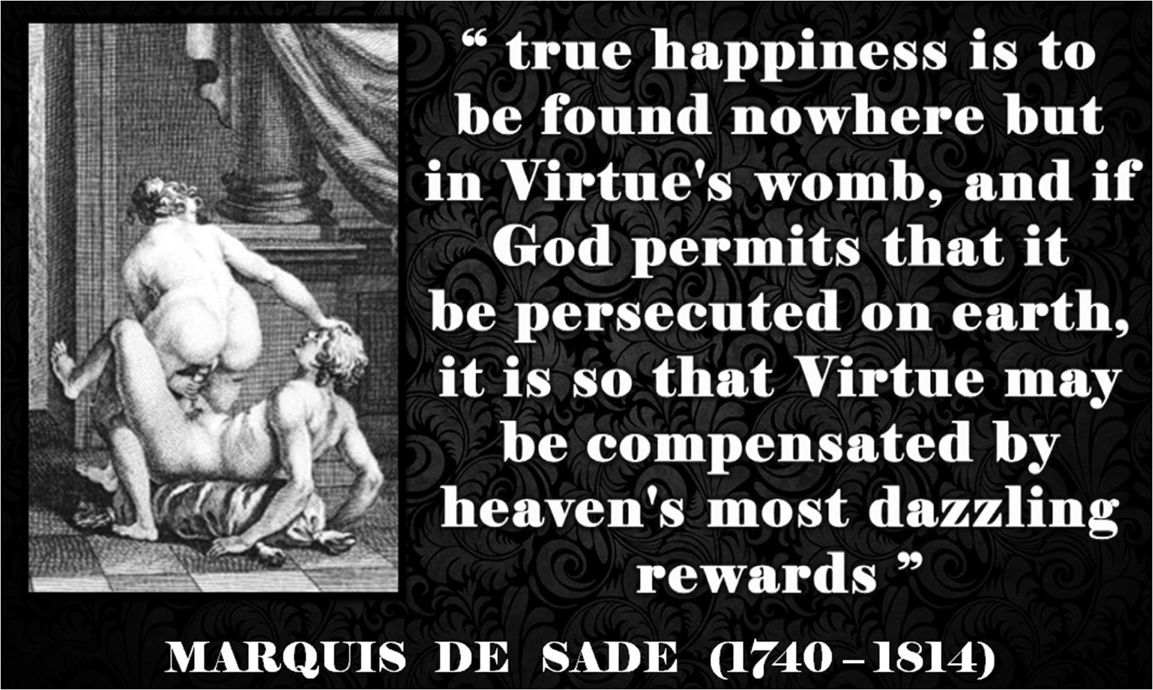 Quotes Voltaire Marquis De Sade Quotes  Marquis De Sade Quotes And Quotation