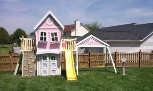 Forget the kids!  I want one for me!  SO COOL!    www.IMAGINETHATPLAYHOUSES.COM