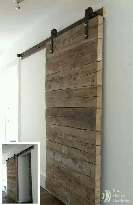 Schiebetur Holzschiebeturen Scheunentor Eisenwaren Innenstallturen