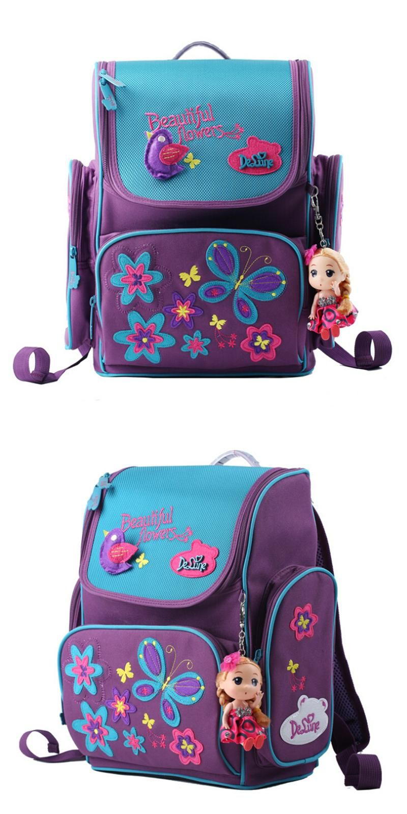 Visit to Buy] Kids cartoon backpacks school backpack