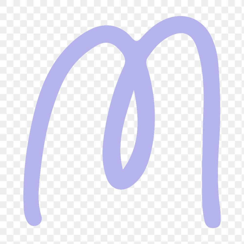 Letter M Png Doodle Font Typography Free Image By Rawpixel Com Aum Doodle Fonts Typography Fonts Typography