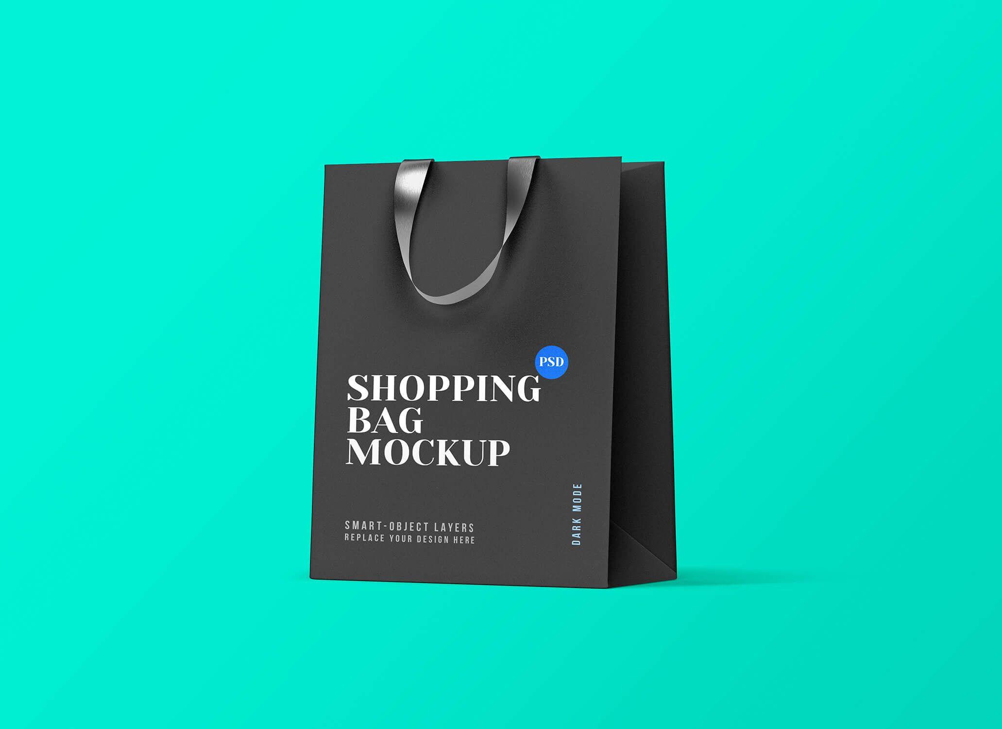 Download Free Black White Shopping Bag Mockup Psd Set Good Mockups Bag Mockup Free Black Shopping Bag