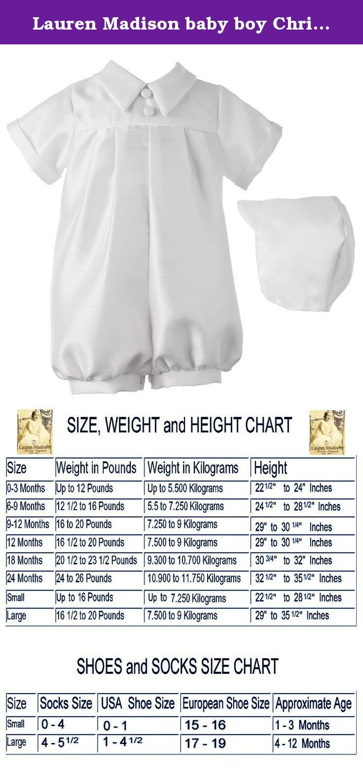 6d81ab0115d Lauren Madison baby boy Christening Baptism Special occasion Infant  Shantung Short Romper With Pleating On Front