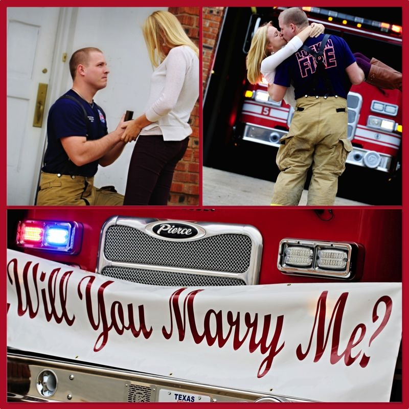 Surprise Firefighter Proposal Happiest Day Of My Life Morgan Due