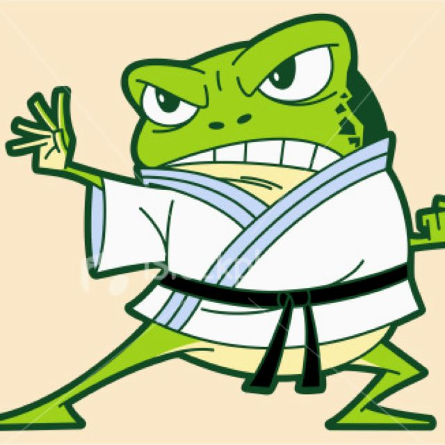 Ninja Frog Art Work Frog Illustration Frog Logo Cute Frogs