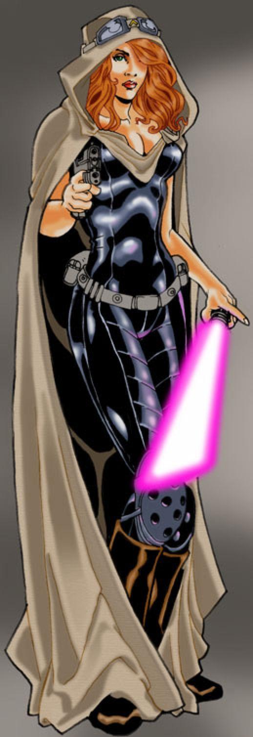 Jedi Master MARA JADE by BongzBerry on @DeviantArt