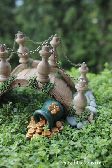 Pot Of Gold Miniature Fairy Garden