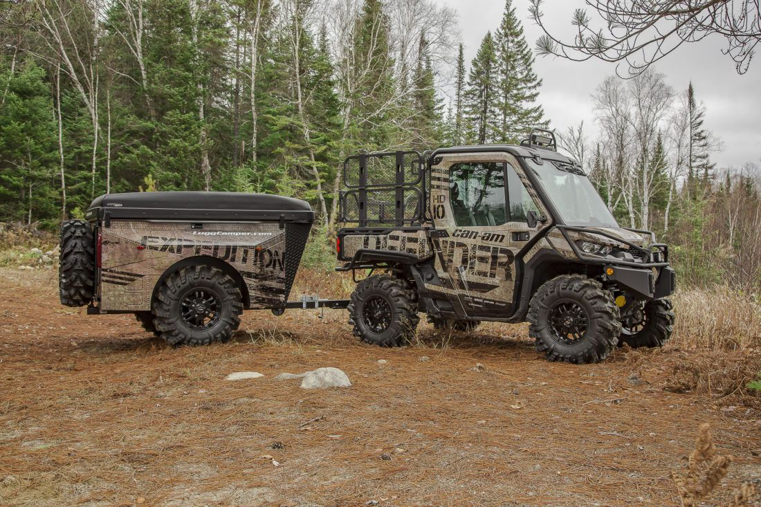 With Our Expedition Build Project We Wanted To Assemble A Vehicle Which Would Be Employed For Backcountry Exploration And Adv Expedition Expedition Gear Can Am