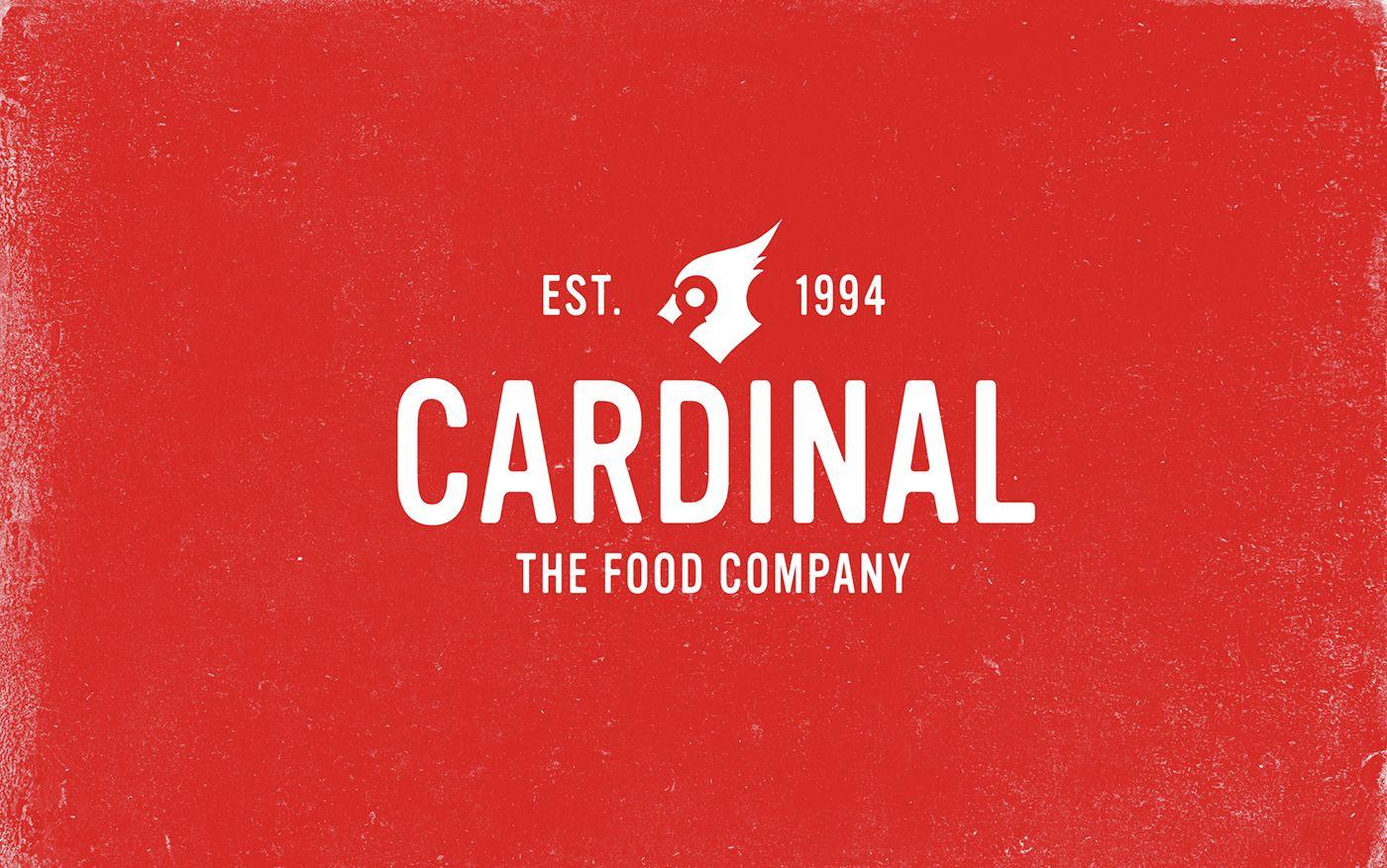 Cardinal The Food Company Brand Identity Packaging On Behance Brand Identity Packaging Design Inspiration Inspiration