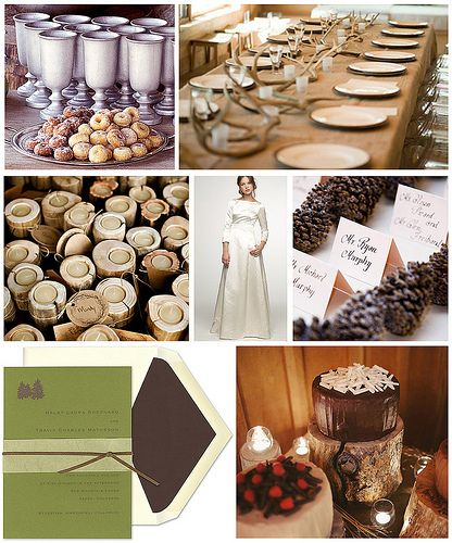 Ski Lodge Wedding Ideas From Whispering Pines