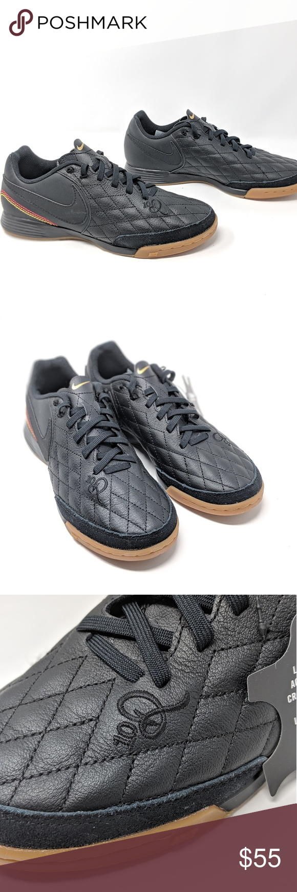 uk availability a0378 d1a5c NEW Nike Tiempo Ligera IV 10R IC Ronaldinho Leathe NEW Nike Tiempo Ligera  IV 10R IC