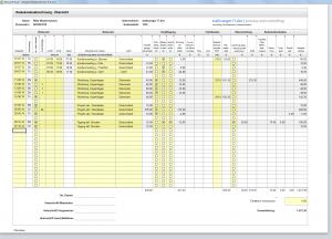 travel management excel template excel reisekosten vorlage fr de und us pdf fr die reisekostenabrechnung - Muster Reisekostenabrechnung