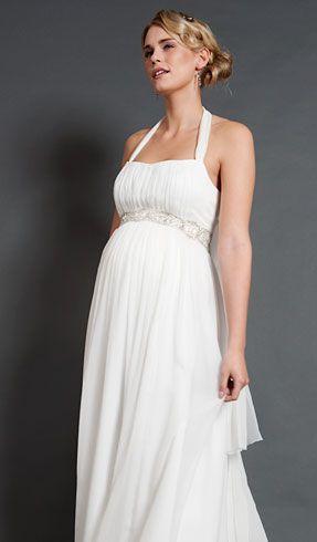 41292c1dc Vestido novia premamá.Alya Silk Maternity Bridal Gown (Long) - Maternity  Wedding Dresses