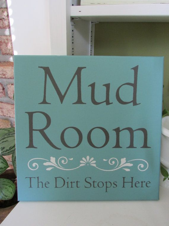 Word Signs Wall Decor Mud Room Sign12X12 Canvas Signslaundry Room Signsentry Way