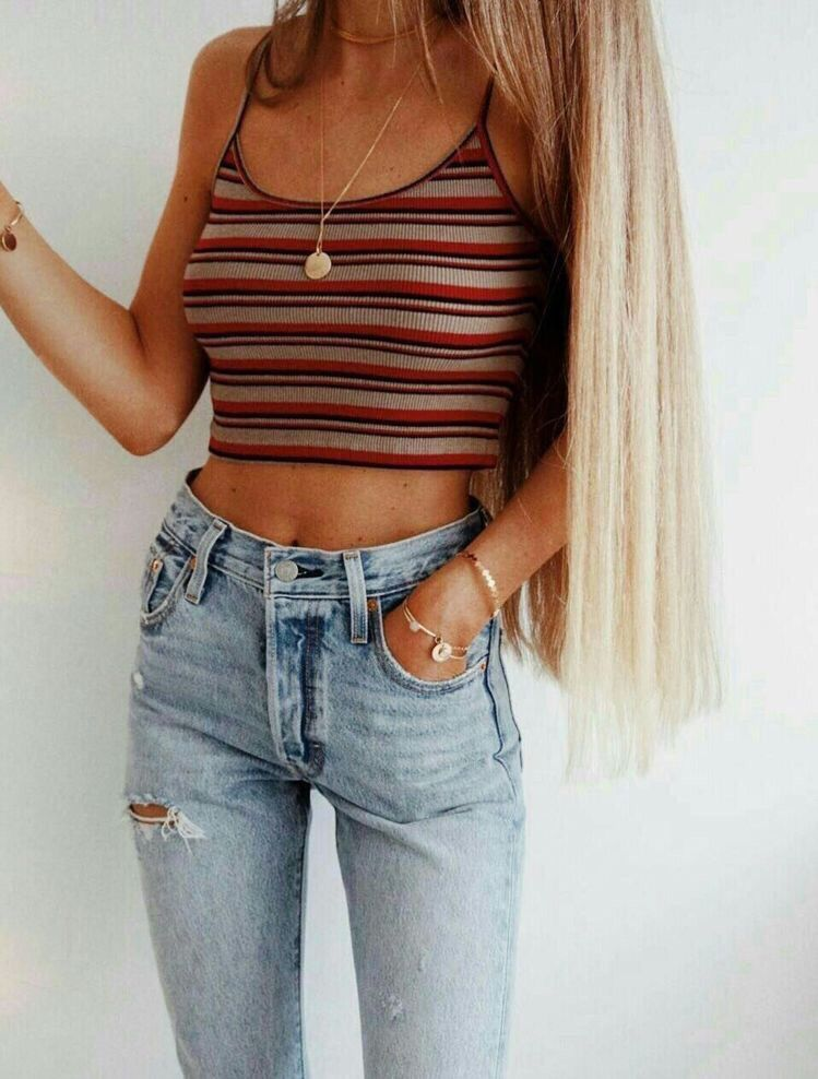 Vsco Crazyteensss With Images Crop Top Outfits Top Outfits