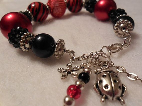 Christmas Sale Jewelry Bracelet Lady Bug by ...