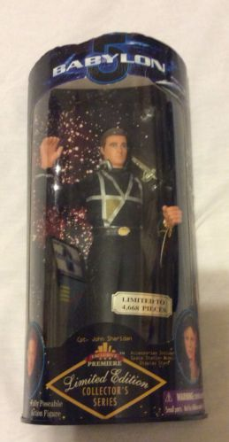 Babylon 5 Captain John Sheridan 9 Limited Edition Action Figure