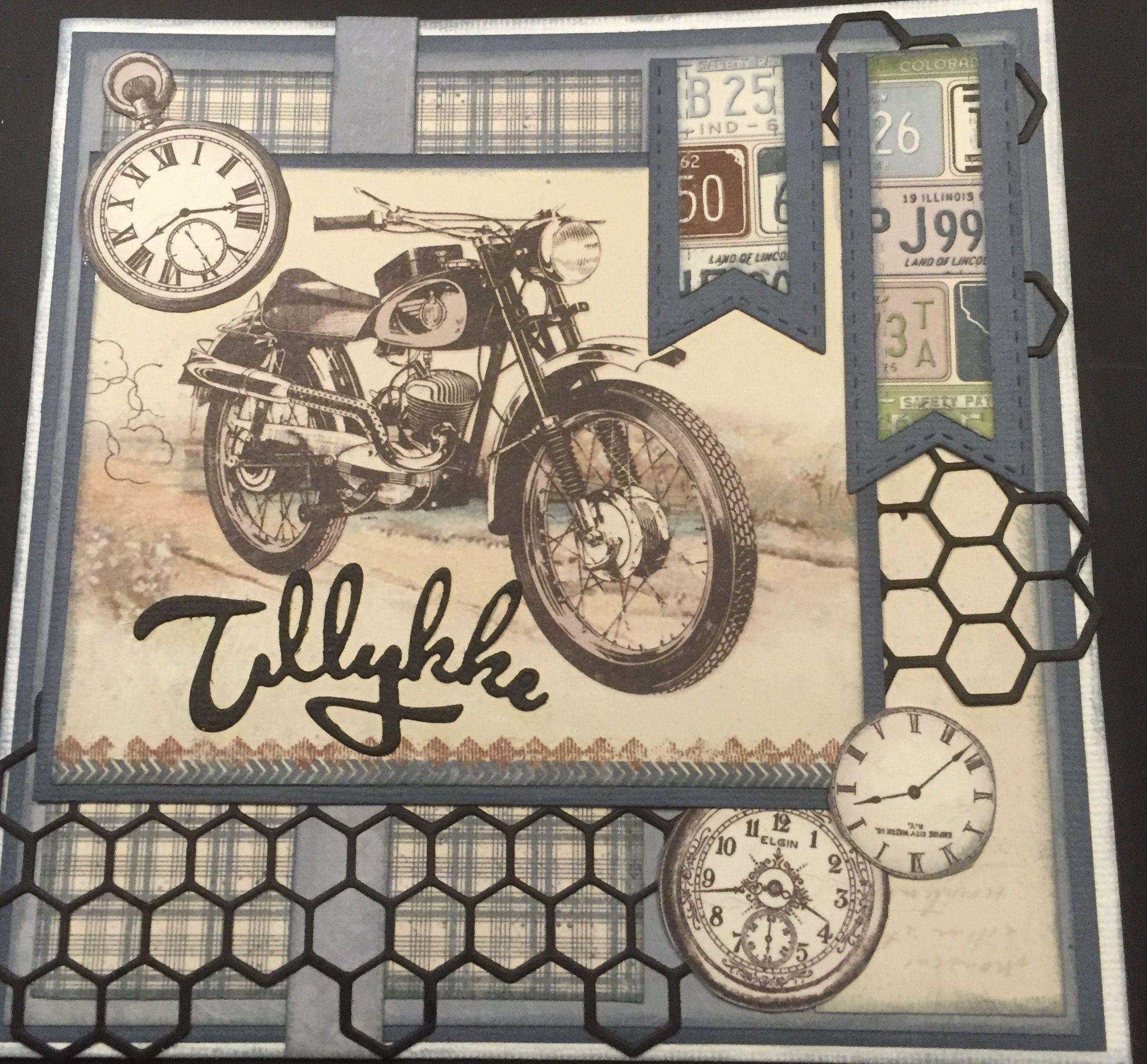Картинки с мотоциклом для скрапбукинга