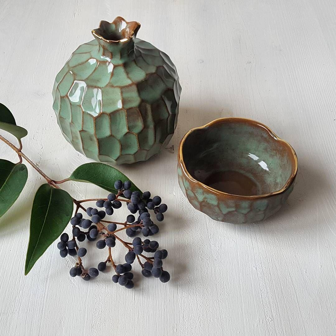 #ceramicpomegranate #ceramicbowl #seramiknar #ceramicart #pottery… #ceramique #ceramica #ceramics #seramik #ceramic #keramik???????? #ceramicpottery