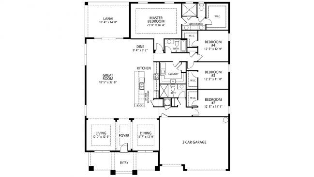 Maronda sienna floor plan 1st floor our new house Pinterest