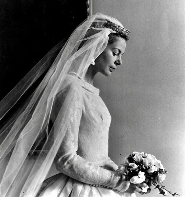Katherine Worsley, Duchess Of Kent On Her Wedding Day On 8