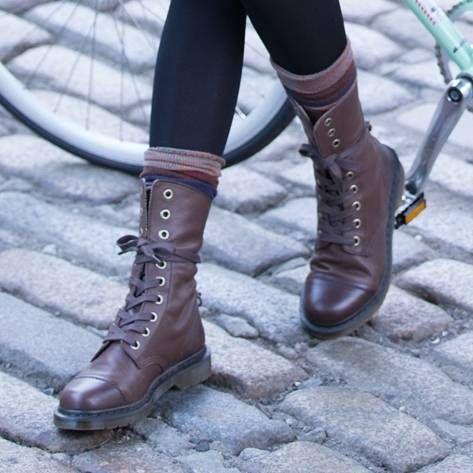 Dr. Martens Jadon Eye Boot worn by Jessica Alba West