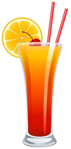 cocktail tequila sunrise png clipart festa havaiana pinterest rh pinterest com cocktail clipart free cocktail clip art black and white