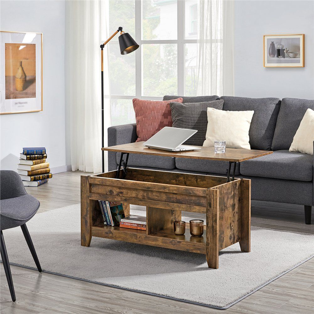 Smilemart Rustic Wooden Lift Top Coffee Table With Storage For Living Room Walmart Com Walmar Coffee Table Living Room Coffee Table Coffee Table With Shelf [ 1000 x 1000 Pixel ]