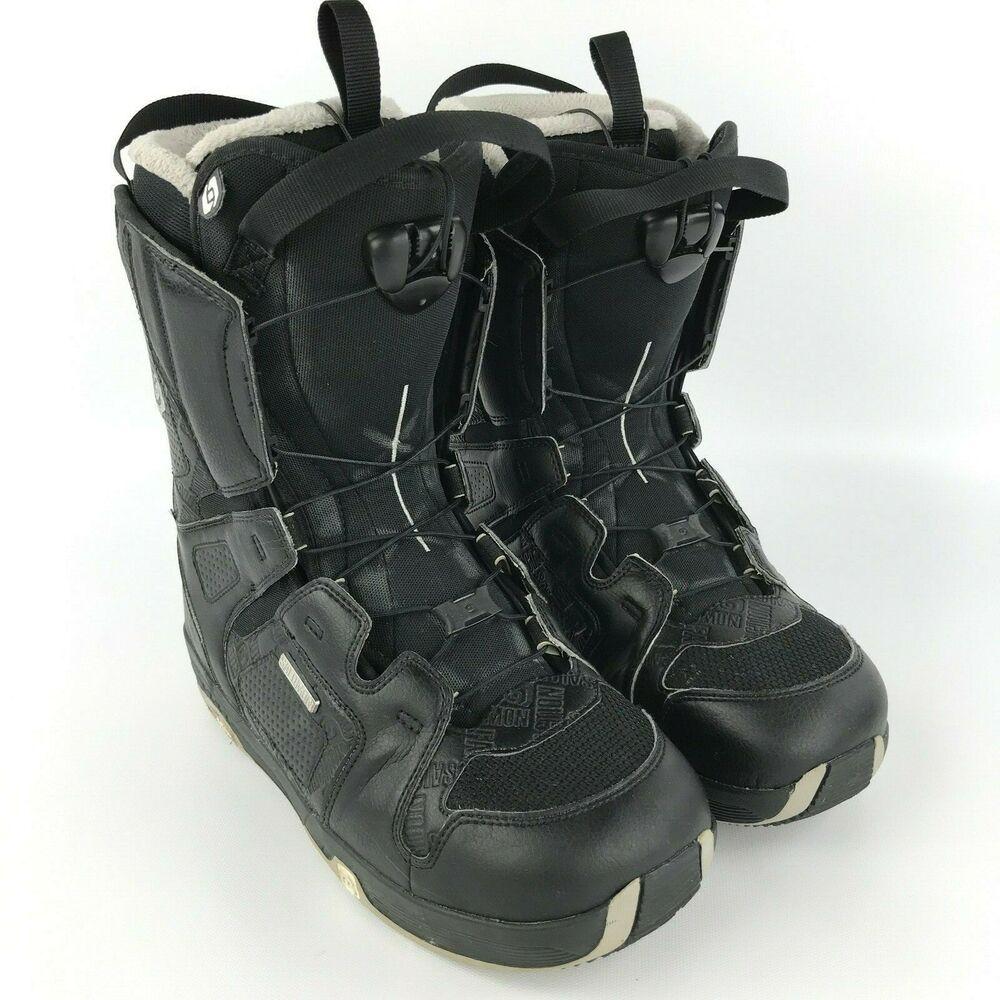 1a9b3516ba Advertisement(eBay) Salomon Faction Snowboard Boots Mens Size 9 USA ...