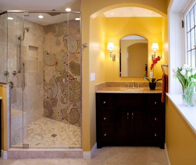 18 Gorgeous Bathroom Mosaics That You Shouldnt Miss