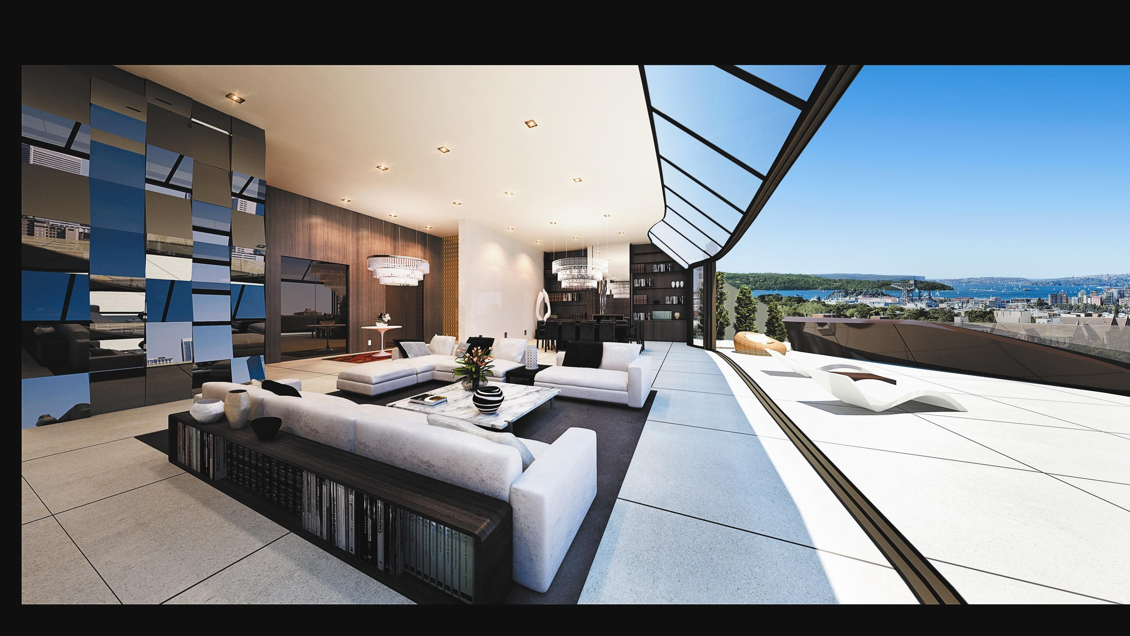 Free screensaver room Luxury apartments, Modern