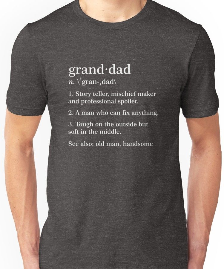 Grandad Mischief Mens Funny T Shirt Birthday Fathers Day Christmas Gift