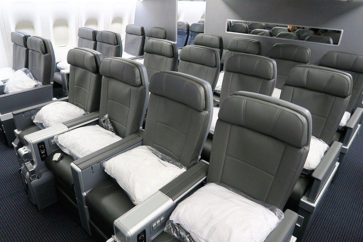 American Airlines Boeing 777 200er Premium Economy Cabin Photos American Airlines Boeing 777 Boeing