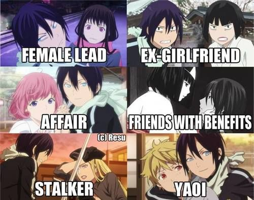 Noragami ~~ This. Is. PERFECT!!! ::: Yato really gets around.