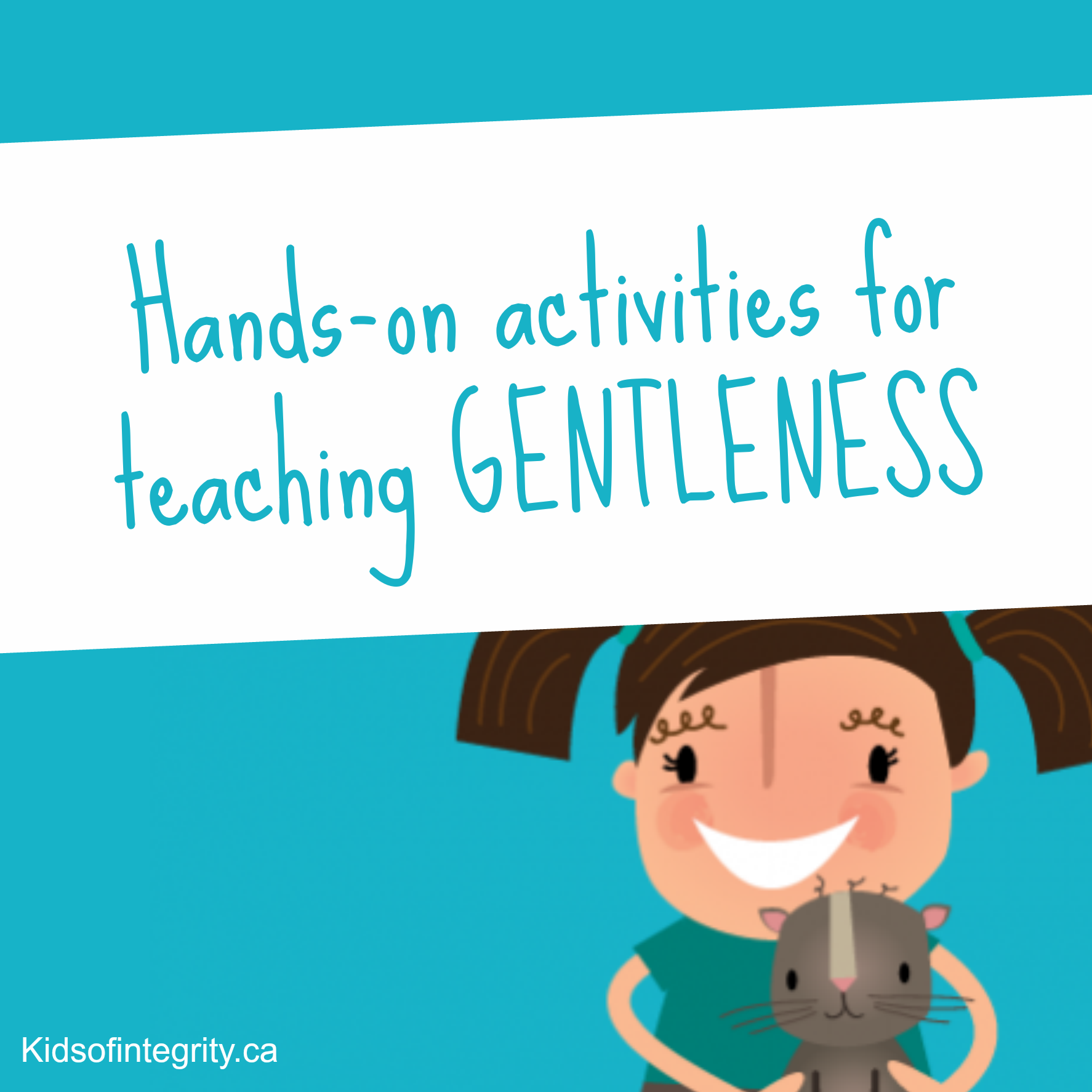 Hands On Activities For Teaching Gentleness To Your Kids While You Re On The Go There Are