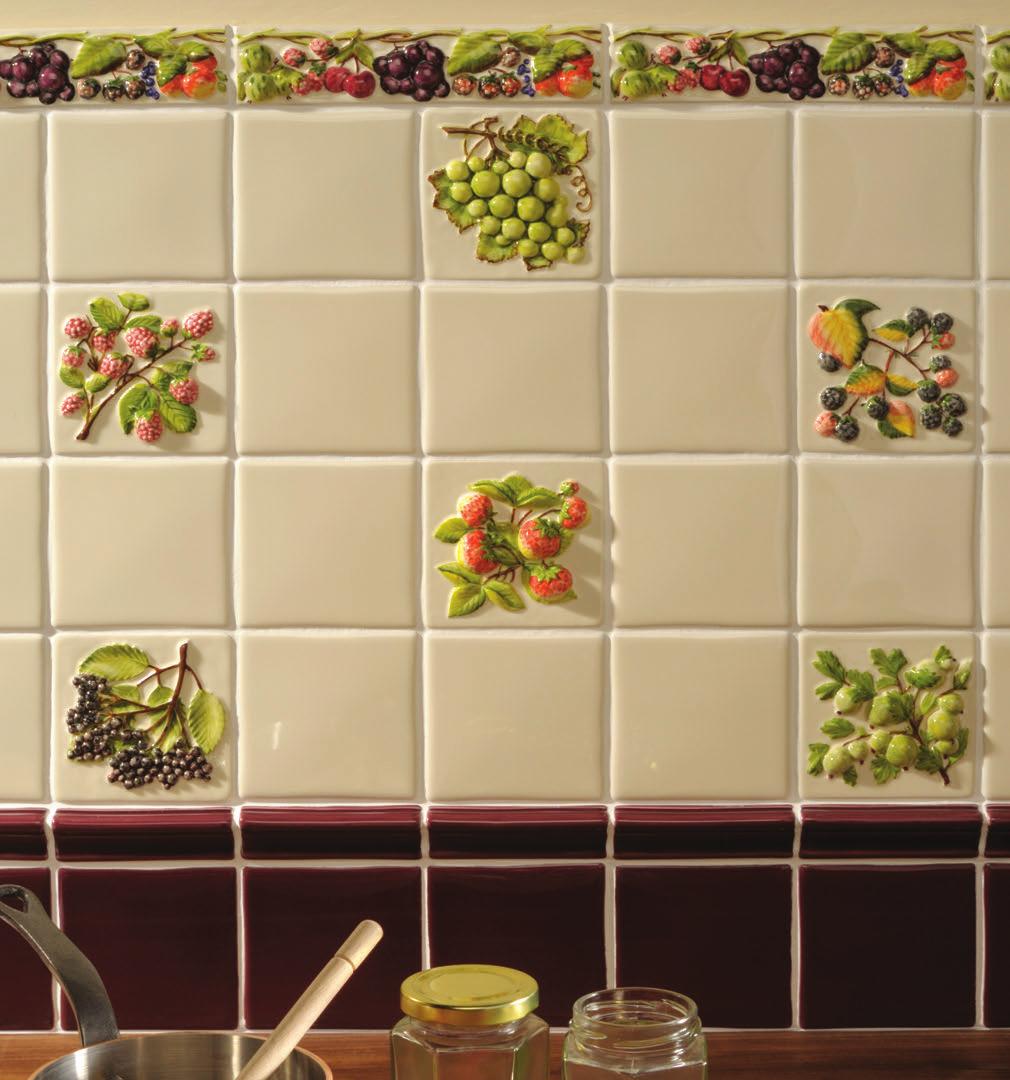 tile stickers fruits fruit sticker