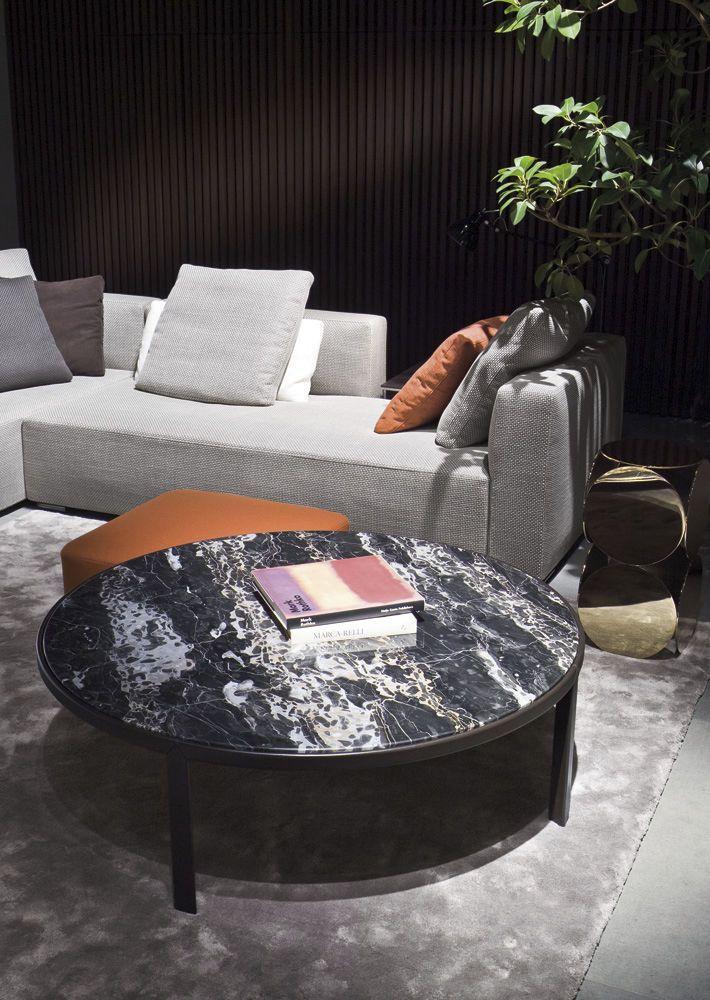 Contemporary coffee table (marble top) - RILEY by Rodolfo Dordoni ...