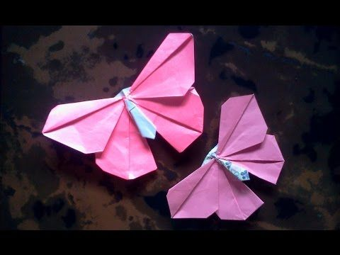 How To Fold An Origami Butterfly/ Origami Tutorials/ Folding Craft ...   360x480