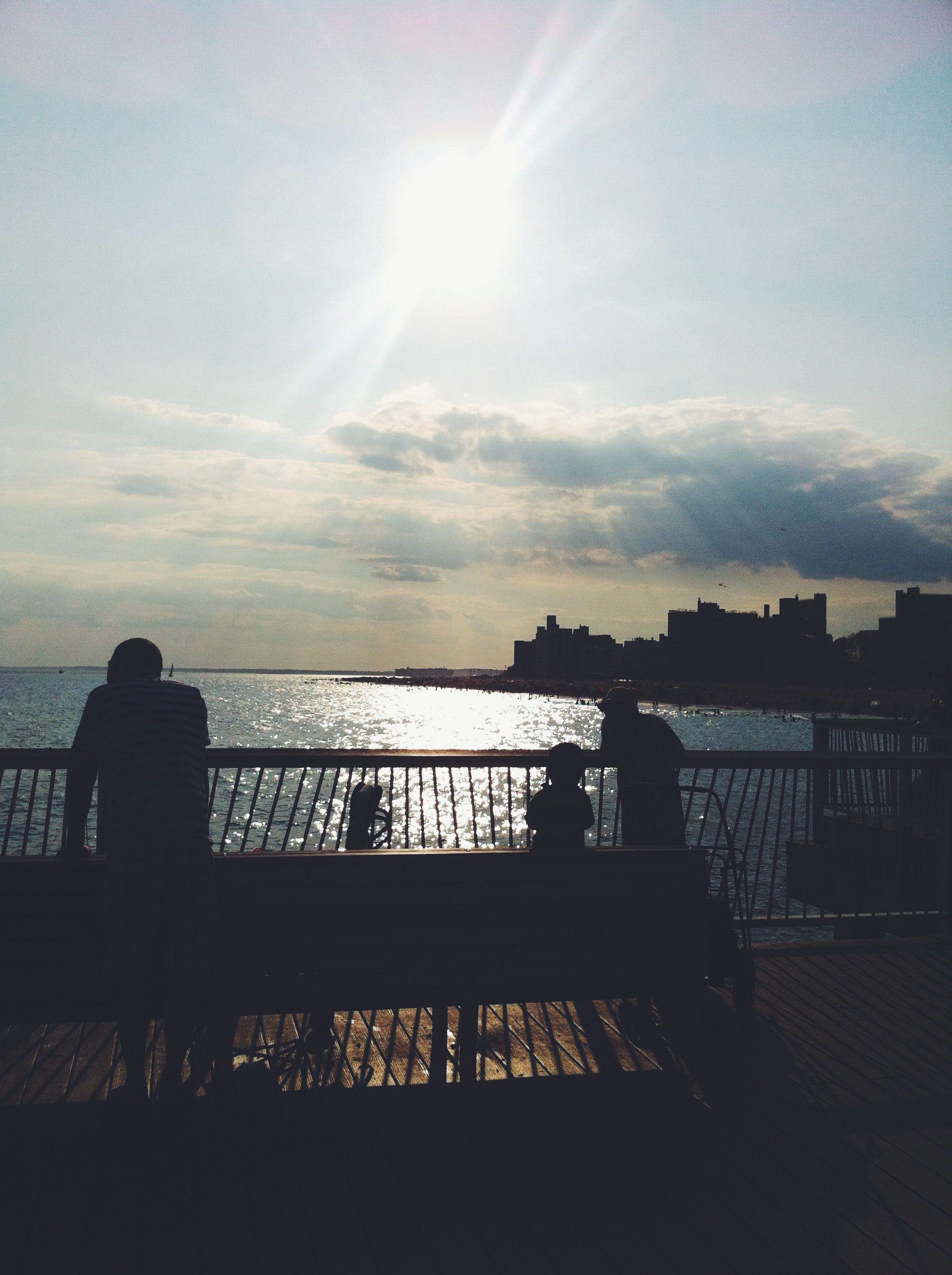 Pier At Coney  Island