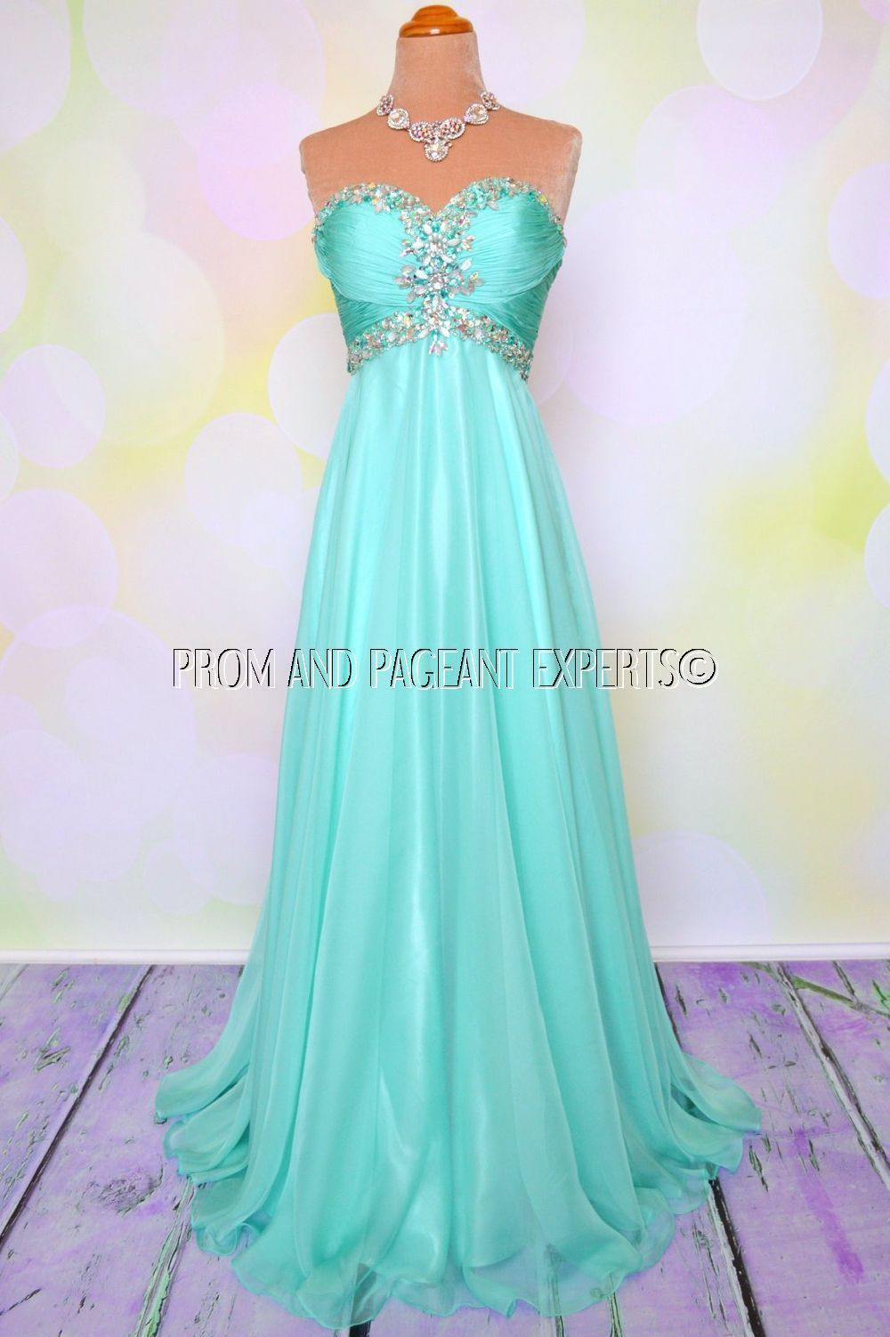 Gorgeous mint teal prom dress | Gorgeous Prom Dresses | Pinterest ...