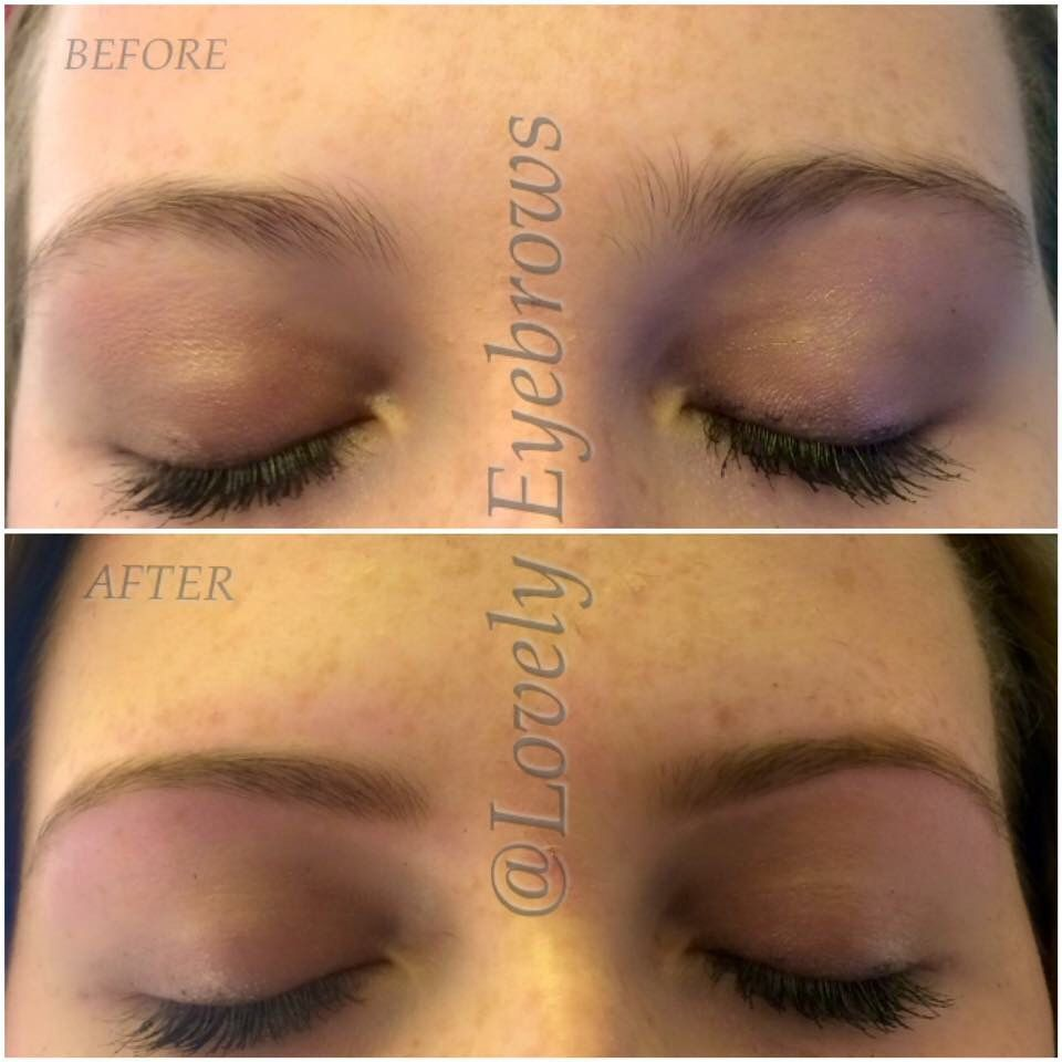 Perfect Eyebrows Even Threading Defined Painless Lovely