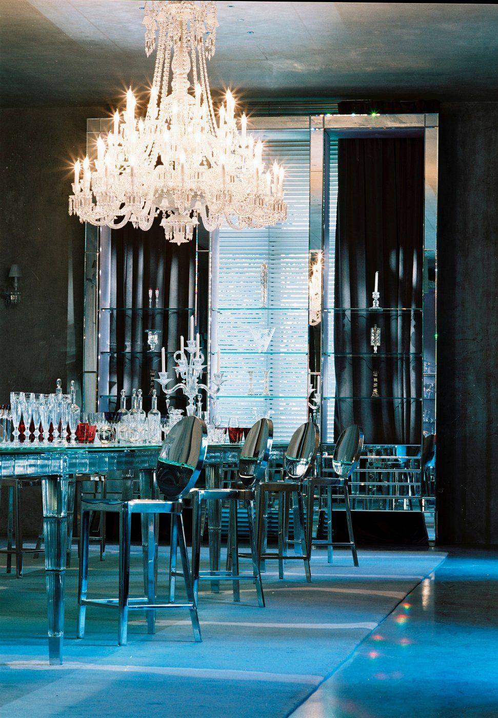 Maison Baccarat Paris Philippe Starck Chandelier Baccarat