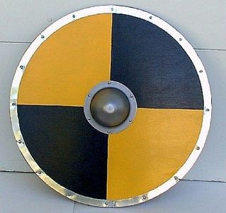 How To Build A Wagon Viking Shield Viking Shield Design Viking Armor