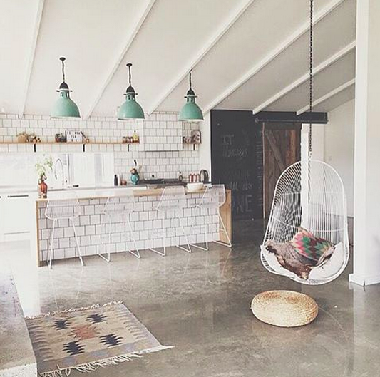 See More Images From 29 Incredible Concrete Floors We Found On Instagram On  Domino.com