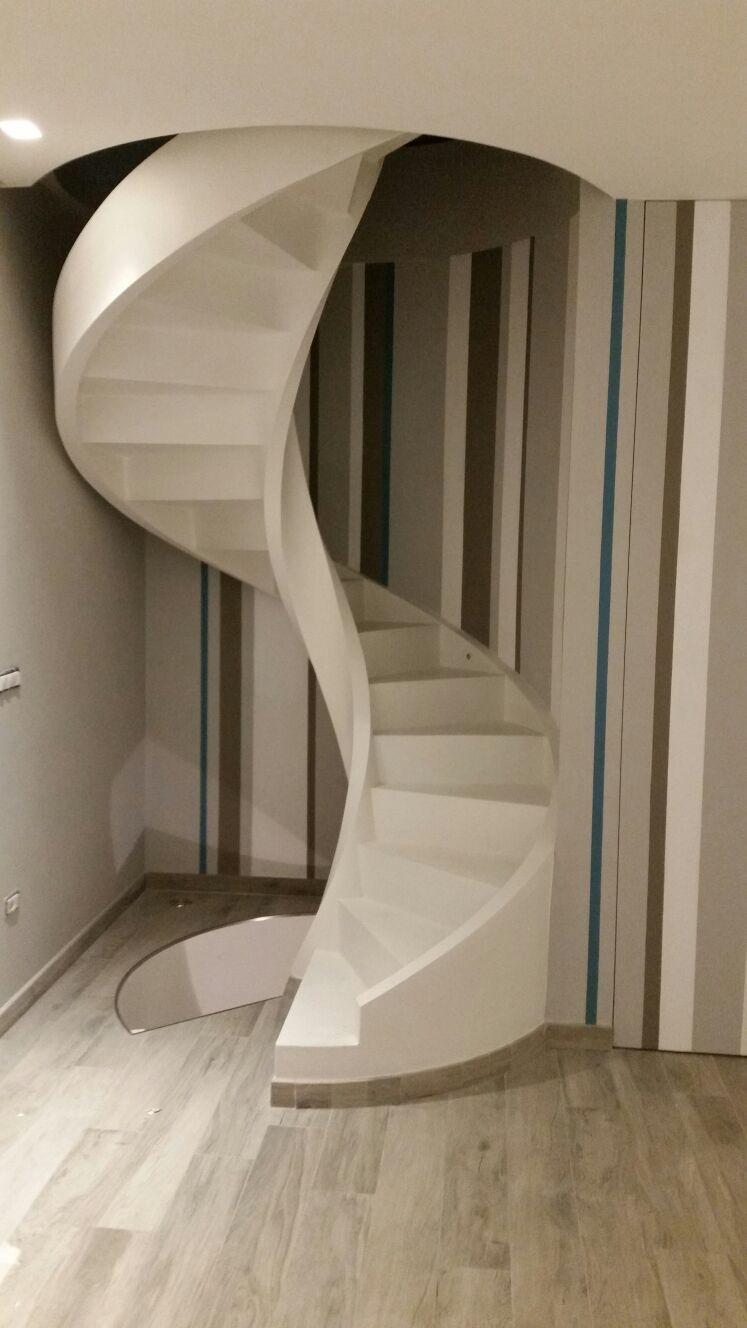 Scale Elicoidali In Cemento.Scala Elicoidale Cemento Armato In 2019 Home Decor Metal