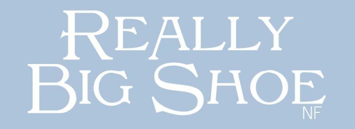 Really Big Shoe NF font download
